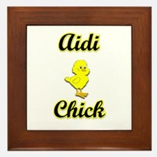 Aidi Chick Framed Tile