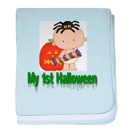 My 1st Halloween baby blanket