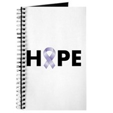 Lavender/Periwinkle Ribbon Hope Journal