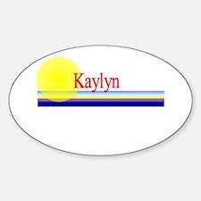 Kaylyn Oval Decal