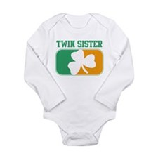 Unique Twin sister Long Sleeve Infant Bodysuit