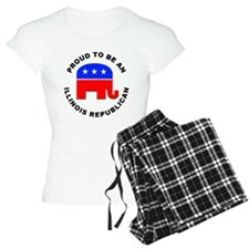 Illinois Republican Pride Pajamas