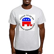 Illinois Republican Pride T-Shirt