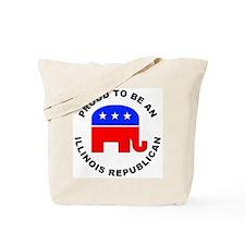 Illinois Republican Pride Tote Bag