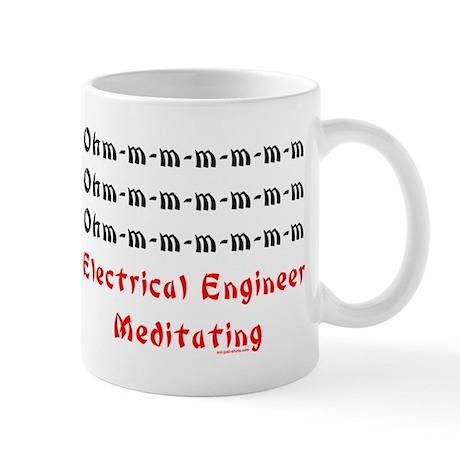 Electrical Engineer Meditating Mug