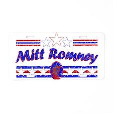 Vintage Romney 2012 Aluminum License Plate