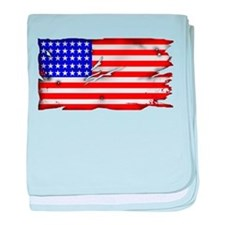 1864 US Flag baby blanket