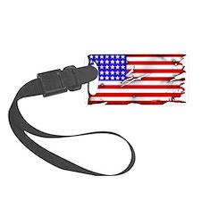 1864 US Flag Luggage Tag