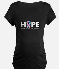 Pink & Blue Ribbon Hope T-Shirt