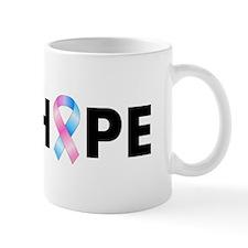 Pink & Blue Ribbon Hope Mug