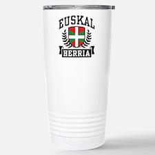 Euskal Herria Stainless Steel Travel Mug