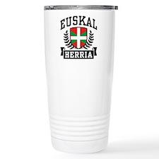 Euskal Herria Travel Mug