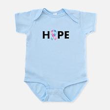 Pink & Blue Ribbon Hope Infant Bodysuit