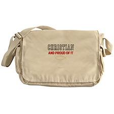 Christian and Proud Messenger Bag