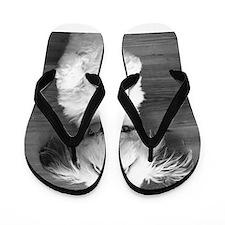 Shih Tzu Nap Flip Flops