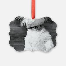 Shih Tzu Nap Ornament