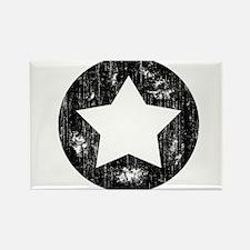 Distressed Vintage Star 1 Rectangle Magnet
