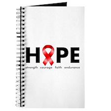 Red Ribbon Hope Journal