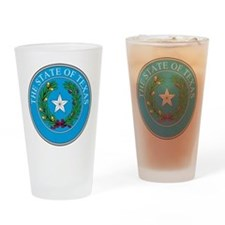 Texas State Seal Drinking Glass