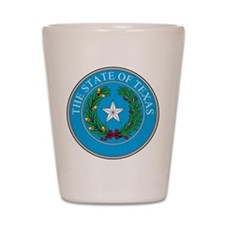 Texas State Seal Shot Glass