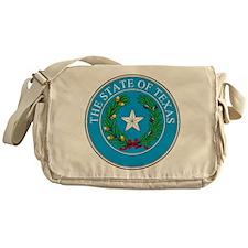 Texas State Seal Messenger Bag