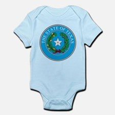 Texas State Seal Infant Bodysuit