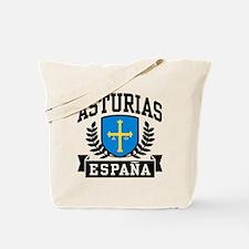 Asturias Espana Tote Bag