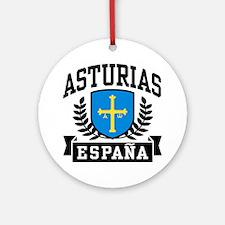 Asturias Espana Ornament (Round)