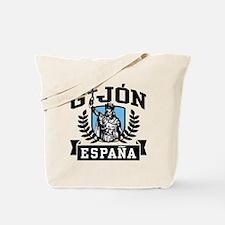 Gijon Espana Tote Bag