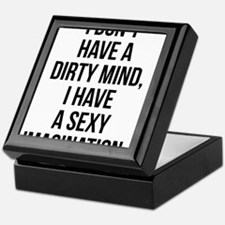 Sexy Imagination Keepsake Box