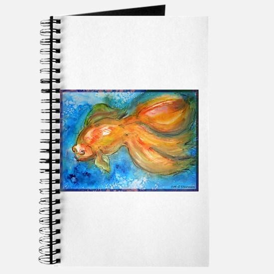 Goldfish, fun art! Journal