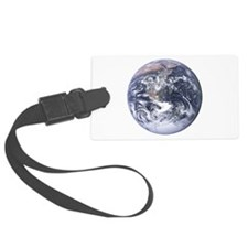 Earth & Moon Image2sides Luggage Tag