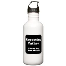 Expecting Father Water Bottle
