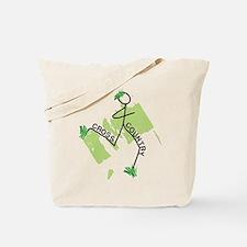 Cute Cross Country Runner Tote Bag