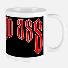 BAD ASS (Black) Mug