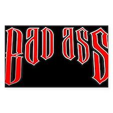 BAD ASS (Black) Decal