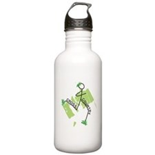Cute Cross Country Run Water Bottle