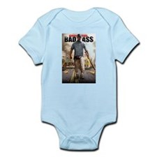 BAD ASS Poster 2 Infant Bodysuit
