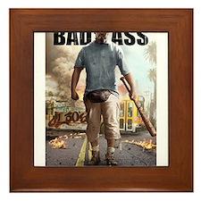 BAD ASS Poster 2 Framed Tile