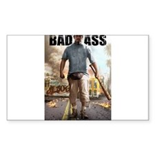 BAD ASS Poster 2 Decal
