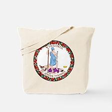 Virginia State Seal Tote Bag