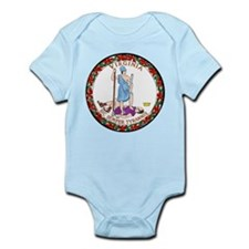 Virginia State Seal Infant Bodysuit