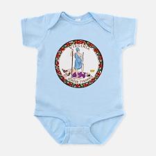 Virginia State Seal Infant Bodysuit