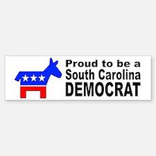 South Carolina Democrat Pride Bumper Bumper Sticker