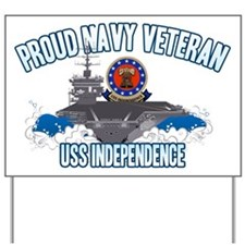 Proud Navy Veteran Yard Sign