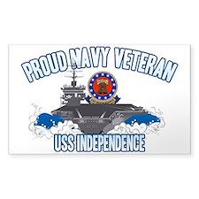 Proud Navy Veteran Decal