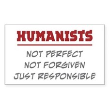 Humanists Rectangle Decal