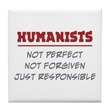 Humanists Tile Coaster