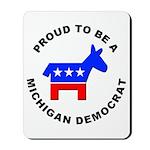 Michigan Democrat Pride Mousepad