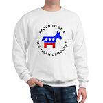 Michigan Democrat Pride Sweatshirt